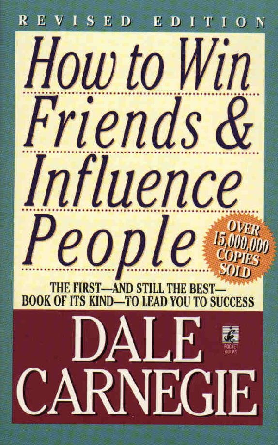 Afbeeldingsresultaat voor How to friends win and influence people - Dale Carnegie