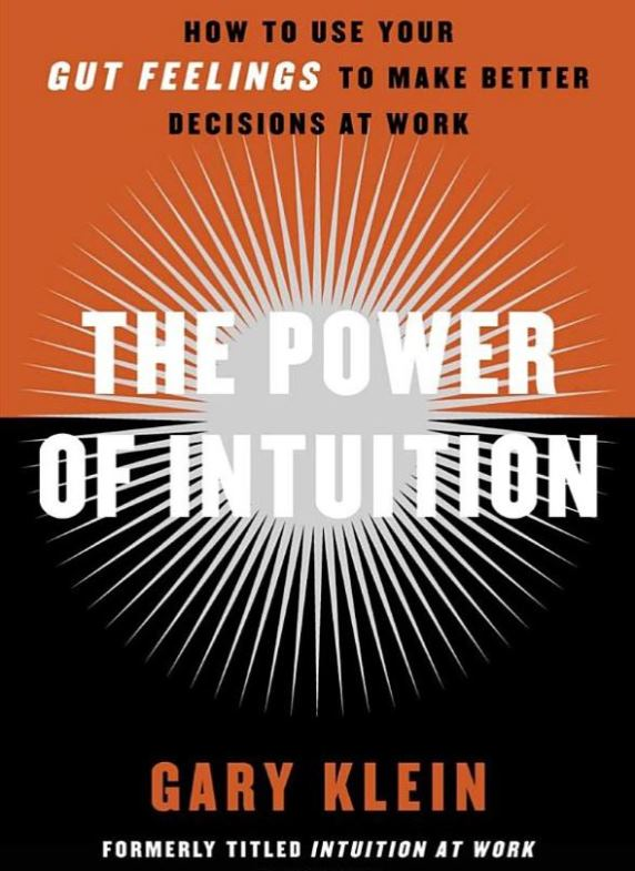 Psychology-Reading-List-Power-of-Intuition-at-Work-Gary-Klein