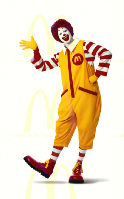 The-McDonalds-mascot