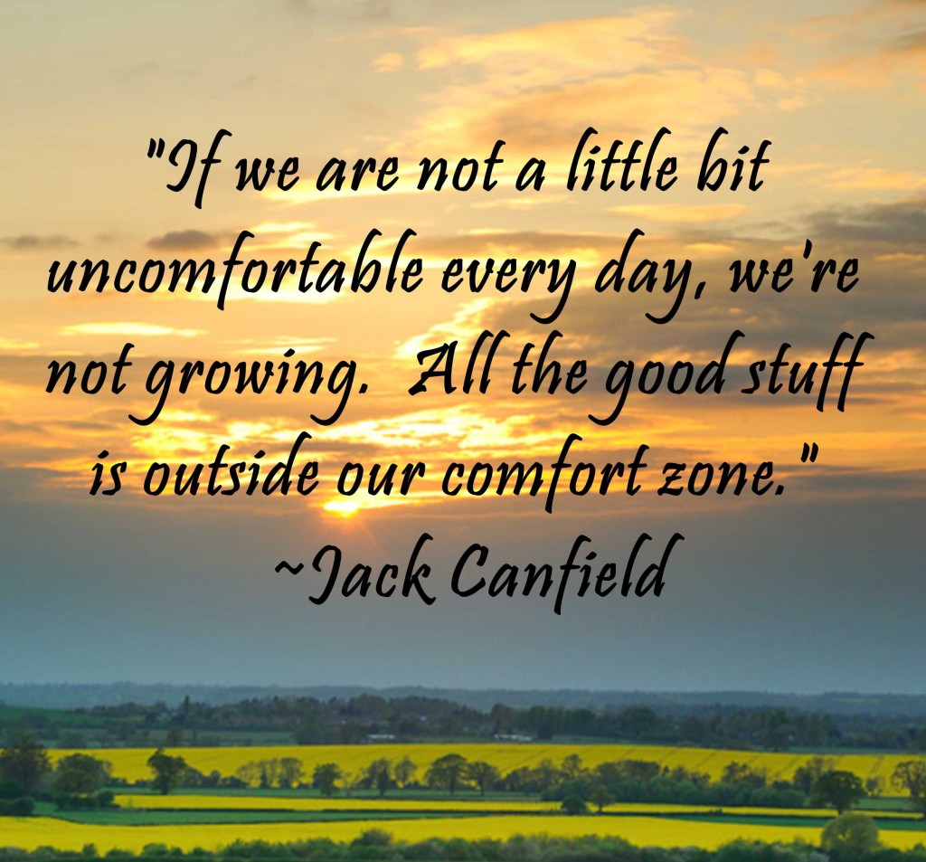 comfort zone jack canfield