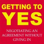 Getting to YES<BR>– Roger Fisher and William L. Ury