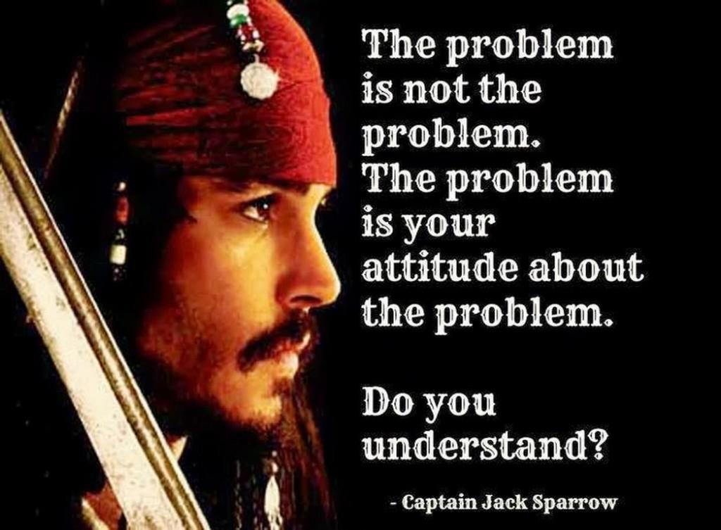 the problem - jack sparrow