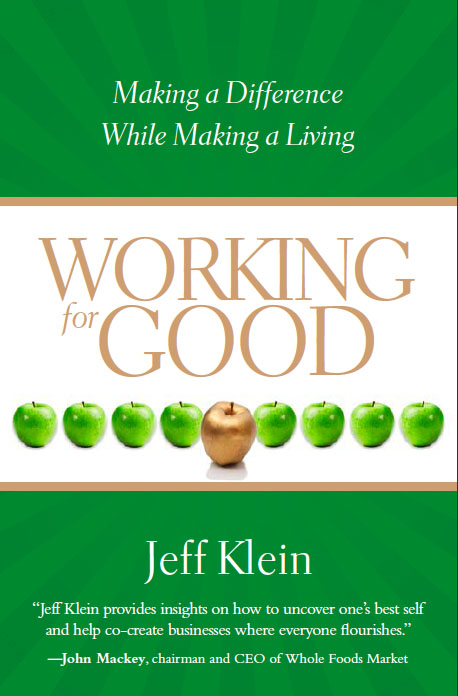 Working for Good by Jeff Klein book