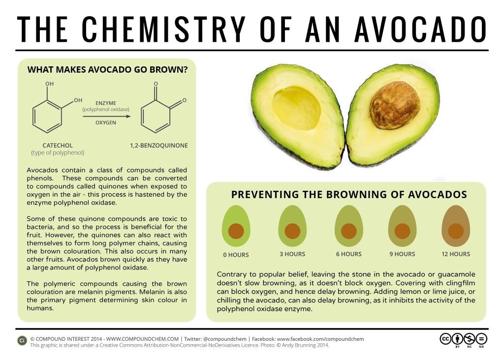 avocados chemistry